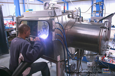 RCW-AEROSPACE - LARGE SIZE WELDING CHAMBER